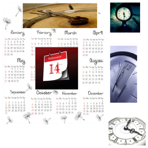 calenders and clocks