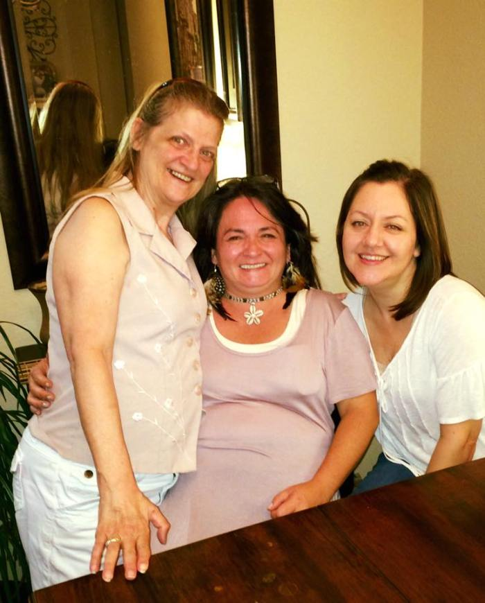 Family 2015 Melissa n Kathy