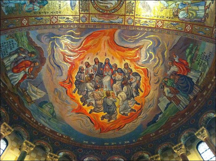 pentecost ceiling