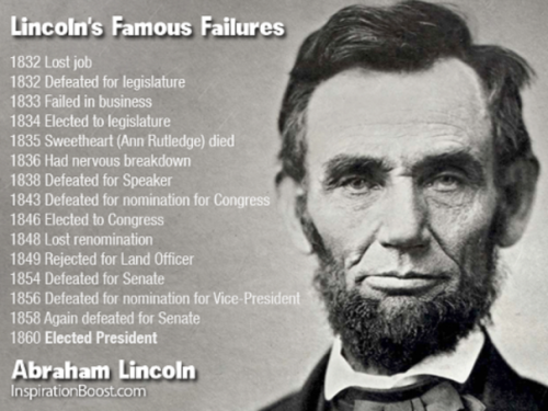 What if Lincoln had given up?