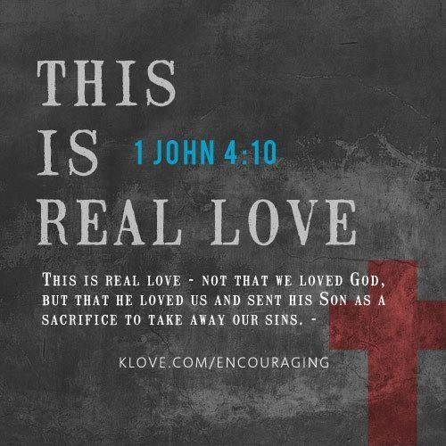 1 John 4.10a